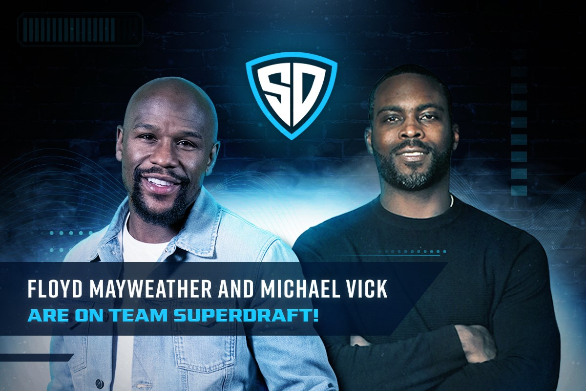 Floyd Mayweather and Michael Vick join Team SuperDraft