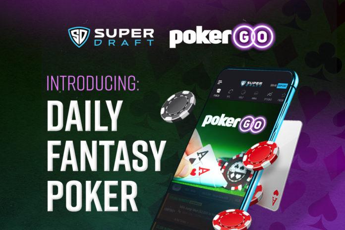 Daily fantasy poker on SuperDraft
