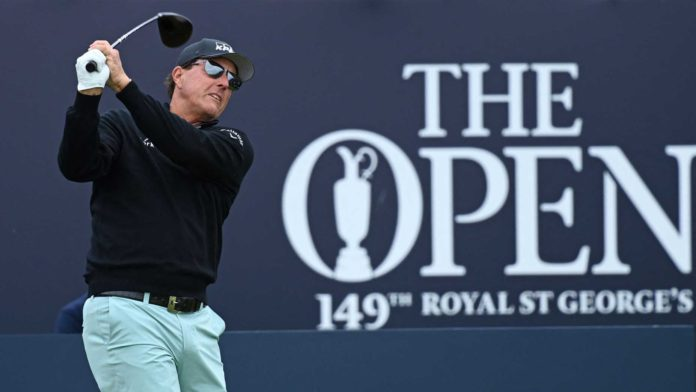 Phil Mickelson looks to win his second major of the year at this year's Open Championship