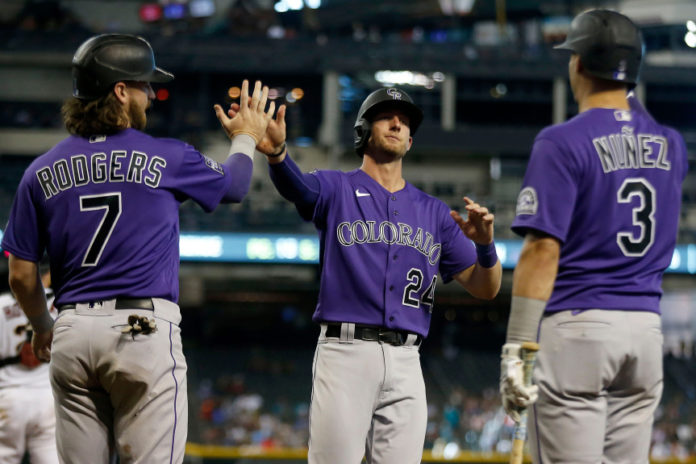 Will the Rockies be the top sluggers in the MLB tonight?