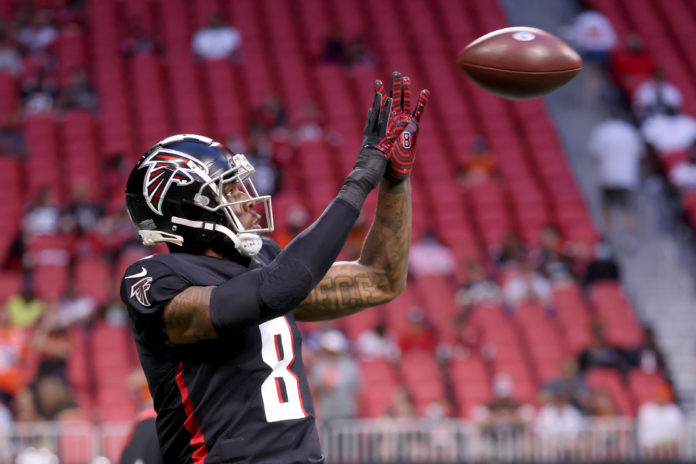 Kyle Pitts is a top DFS starter this week in the FTN x SuperDraft Midweek NFL preview
