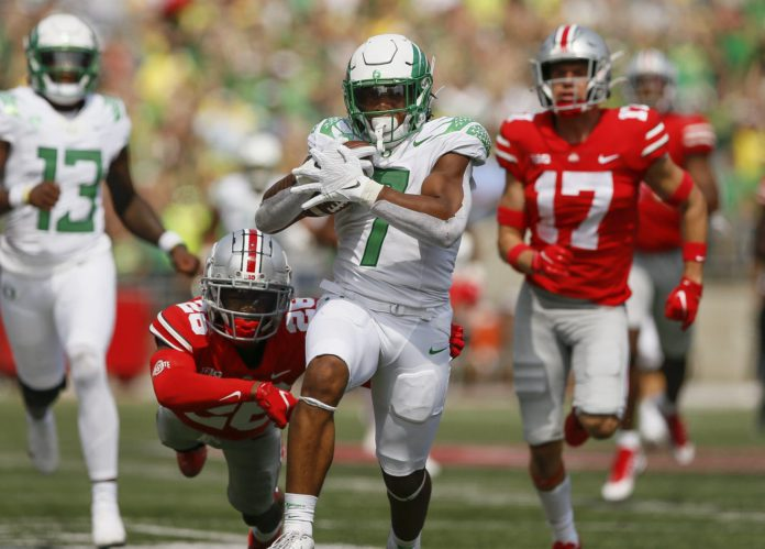 Oregon upsets Ohio State and more in the CFB Recap