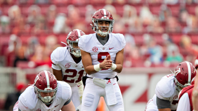 Bryce Young is always a good pick. Check out the other CFB Picks 10/1 inside.