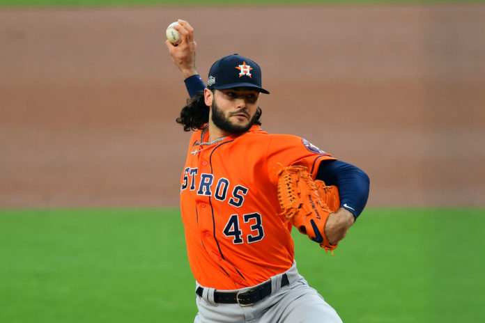 McCullers and the Astros take on the RedSox in the first official post season game of 2021