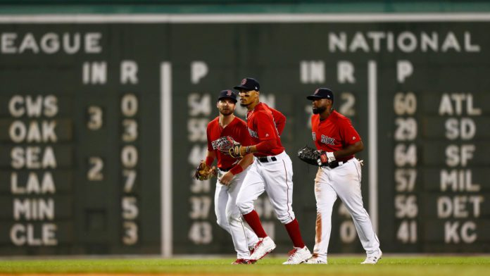 Redsox waxed New York in the first wildcard game last night